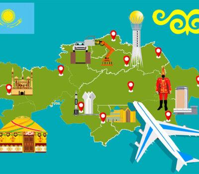 Корпоративным Фондом «Туристік Қамқор» разработана интерактивная карта по туристическим направлениям